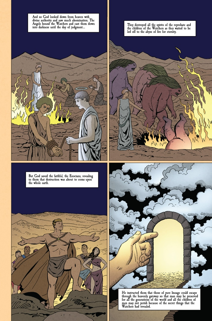 MonsterWorldGA 001 pg9 1 - Preview MONSTER WORLD: THE GOLDEN AGE #1 from American Gothic Press