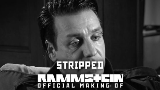 "Rammstein Stripped Banner 560x315 - Looking Back, RAMMSTEIN Defends Video for ""Stripped"" While Admitting Naivety About Incorporating Nazi Propaganda"