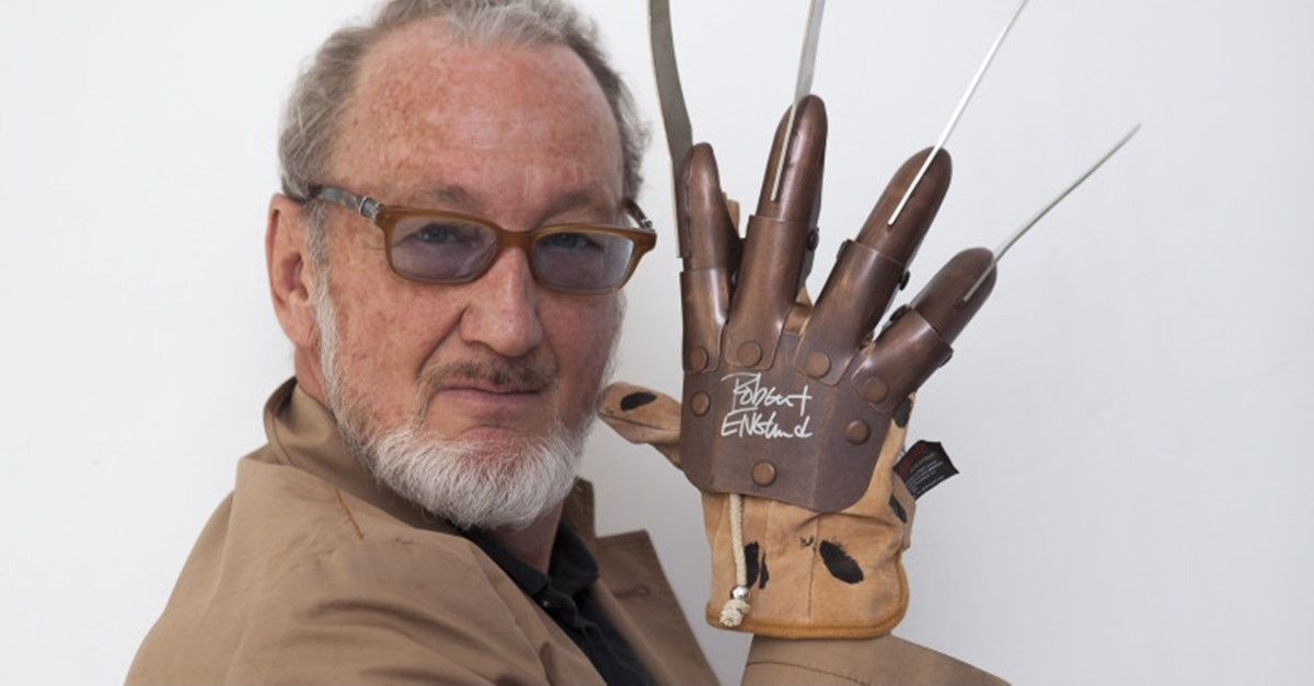 Robert Englund Banner - Are You Ready for Freddy? ICON: THE ROBERT ENGLUND STORY Coming Soon