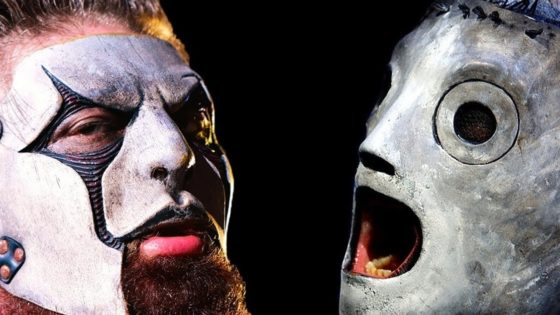 Slipknot Banner 2 560x315 - Did SLIPKNOT Bury Sneak Peek at New Masks in Montage of Old Footage?