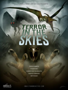 Terror in the Skies Poster 225x300 - Trailer: TERROR IN THE SKIES Documents Thunderbirds and Pterodactyls and Mothman (Oh My)