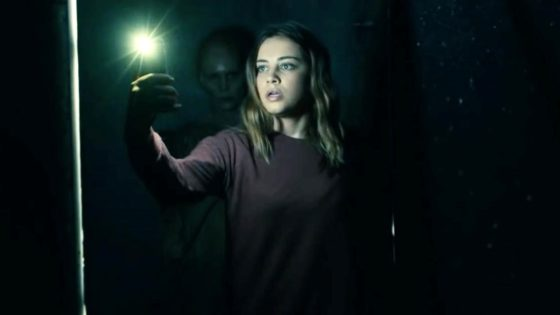 They Come Knocking Banner 560x315 - Trailer: Is Hulu's Next INTO THE DARK Horror Movie, THEY COME KNOCKING, About Black-Eyed Children?