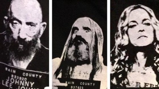 Three From Hell Tees Banner 560x315 - New Series of THREE FROM HELL Mugshot Tees Available to Order Now