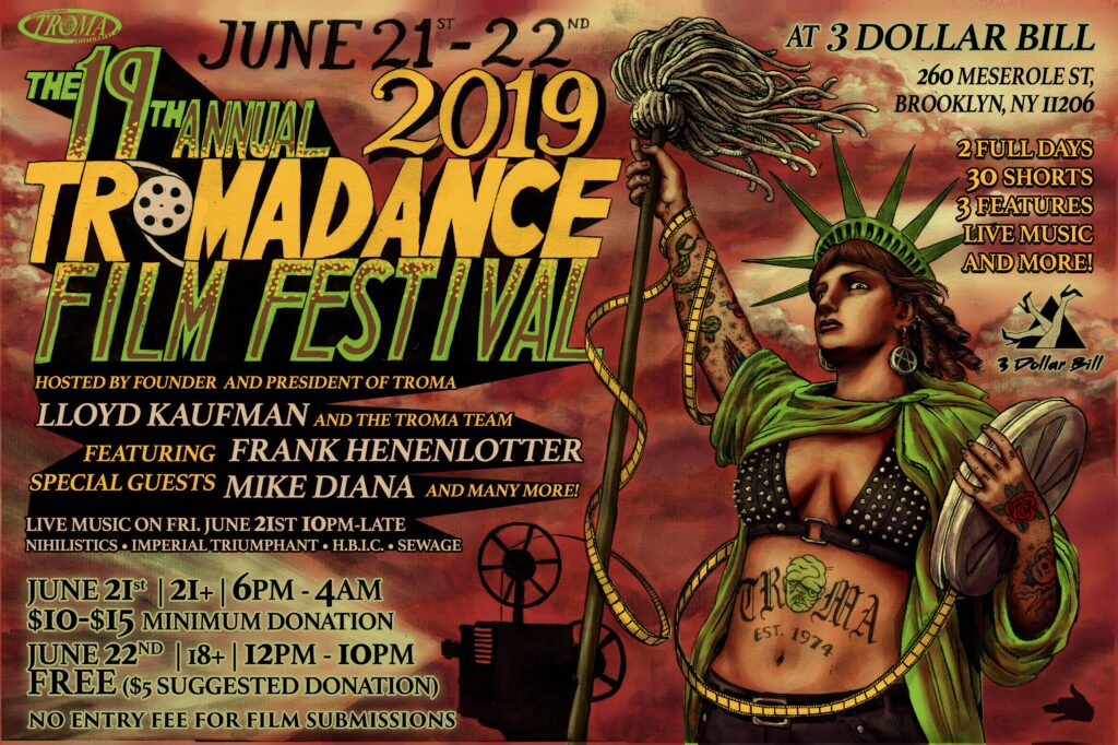 Tromadance 2019jpg 1024x682 - The 19th Annual Tromadance Film Festival is Almost Upon Us