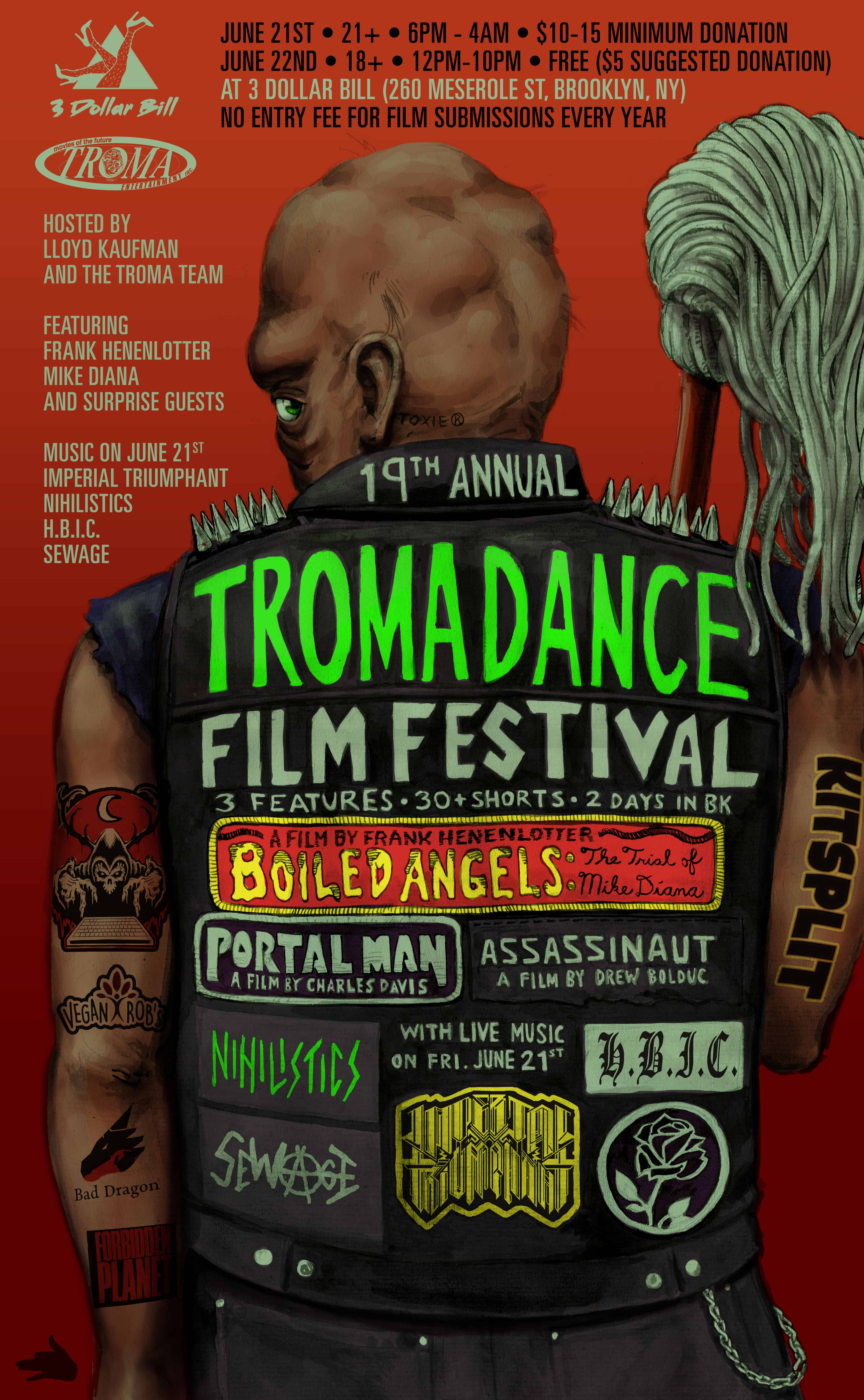 Tromadance Film Festivalv2 - The 19th Annual Tromadance Film Festival is Almost Upon Us