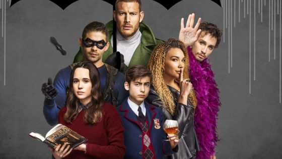 Umbrella Academy Banner 560x315 - Netflix Inks First Look Deal with Dark Horse Entertainment