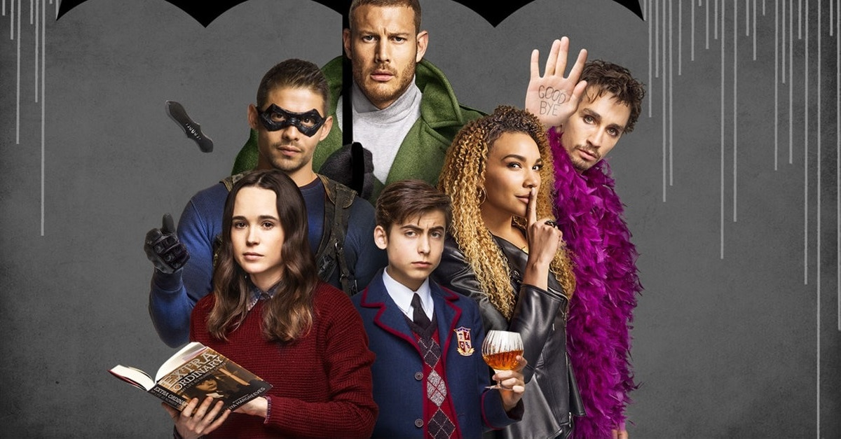 Umbrella Academy Banner - Netflix Inks First Look Deal with Dark Horse Entertainment