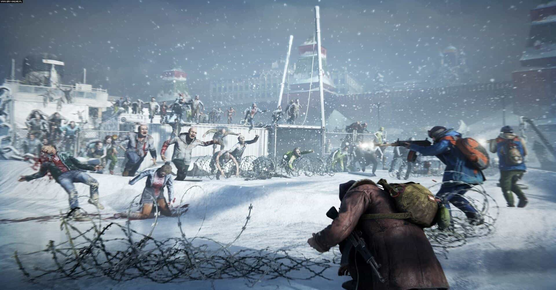 World War Z game snow screenshot - WORLD WAR Z Video Game Sells Over One Million Copies