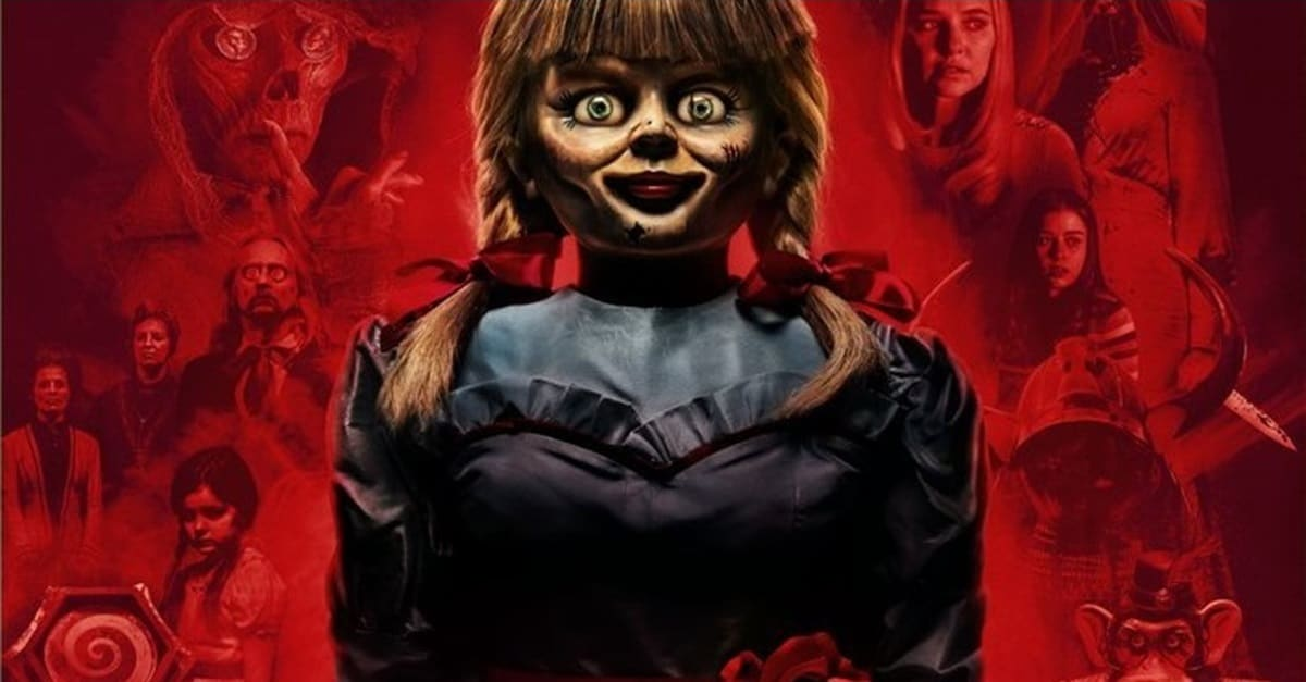 "annabelle comes home 2019 banner - Gary Dauberman Interview: Annabelle Will Be a ""Maestro  of Mayhem"" in ANNABELLE COMES HOME"