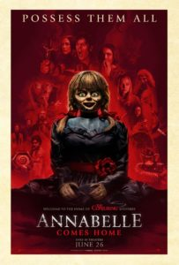 "annabelle comes home 2019 poster 203x300 - Gary Dauberman Interview: Annabelle Will Be a ""Maestro  of Mayhem"" in ANNABELLE COMES HOME"