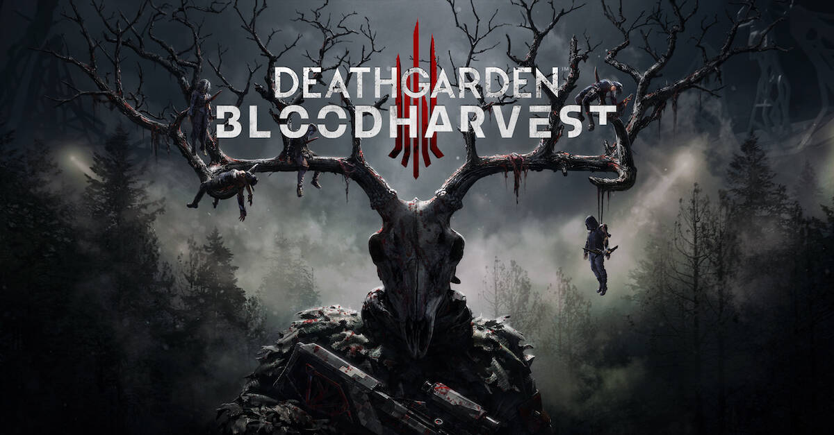 deathgardenbloodharvestbanner - DEAD BY DAYLIGHT Developer Relaunches DEATHGARDEN: BLOODHARVEST With TERMINATOR Cosmetic Set