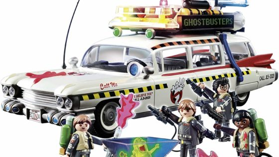 ghostbusters ecto1a 02 560x315 - Review: Playmobil's GHOSTBUSTERS Toys Are A Horror Parent's Dream