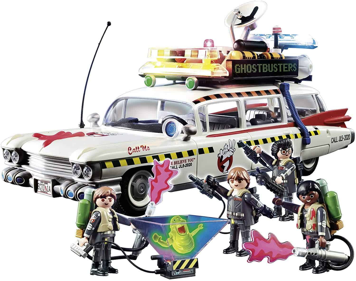 ghostbusters ecto1a 02 - Review: Playmobil's GHOSTBUSTERS Toys Are A Horror Parent's Dream