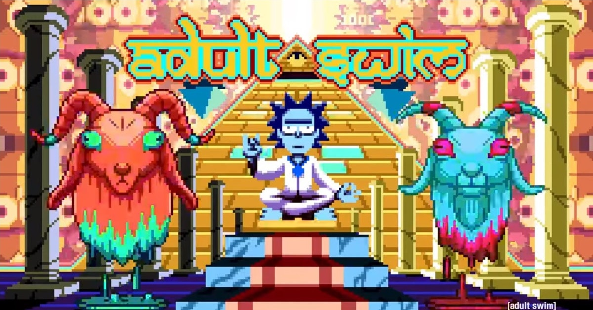 RICK AND MORTY Get Pixelated in Mind-Bending Bumper from Adult Swim