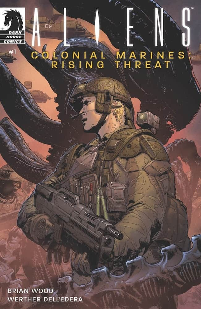 Aliens Colonial Marines Rising Threat 1 - The ALIEN Saga Continues with ALIENS COLONIAL MARIES: RISING THREAT from Dark Horse & 20th Century Fox