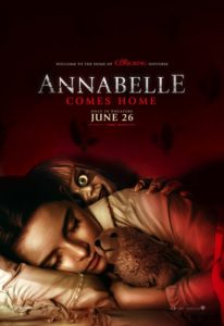 Annabelle Comes Home Poster 206x300 - ANNABELLE COMES HOME Scare Prank Sends Unsuspecting Cleaning Crews Into Hysterics