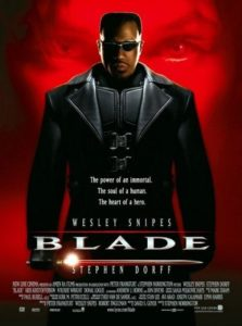 Blade Poster 223x300 - JUSTICE LEAGUE Actor Ray Fisher Wants to Be the Next BLADE