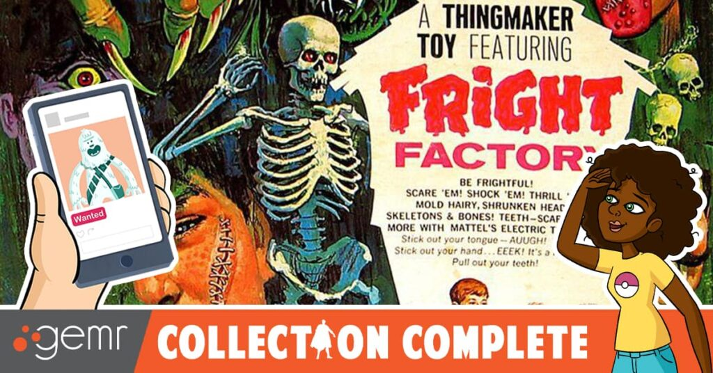 DreadCentral 1200x628 BorderTemplate 4 1024x536 - Latest Episode of COLLECTION COMPLETE: Monster Kid Micheline Pitt Gets Nostalgic with Mattel's Vintage Fright Factory Toy