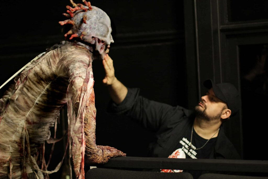 ME AND D 1024x683 - Vincent Guastini: From Making Monsters to Directing & Producing + Image Gallery