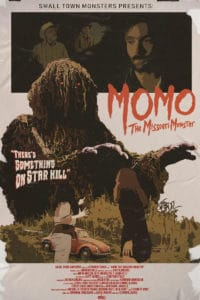 MOMO Poster 200x300 - Small Town Monsters Unveils First Look at MOMO: THE MISSOURI MONSTER
