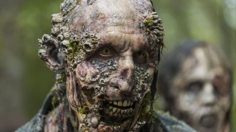 TWD Oceanside Zombie 750x422 - We've Dealt with SHARKNADOS, Now Brace Yourself for a ZOMBIE TIDAL WAVE Making Landfall on SYFY This August!