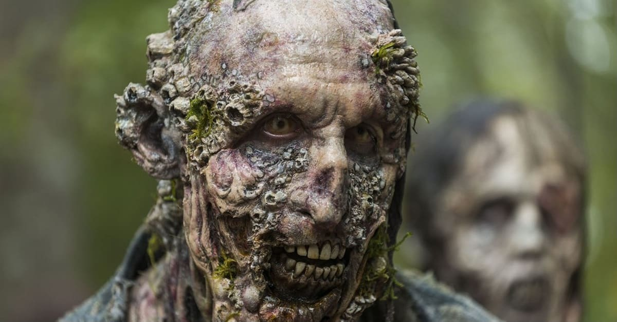 TWD Oceanside Zombie - We've Dealt with SHARKNADOS, Now Brace Yourself for a ZOMBIE TIDAL WAVE Making Landfall on SYFY This August!