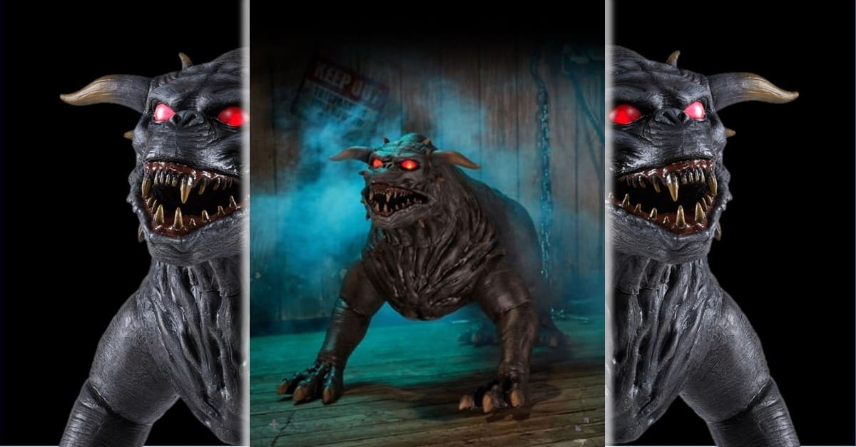 Terror Dog Banner - Spirit Halloween Selling Life-Sized Replicas of Terror Dogs from GHOSTBUSTERS