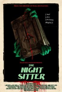 The Night Sitter Poster 203x300 - Trailer: THE NIGHT SITTER is a Supernatural Worst Case Scenario