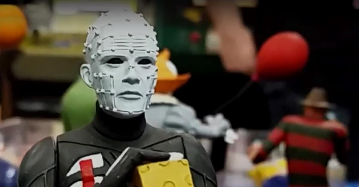 Toony Terrors Pinhead - Check Out Our Exclusive Image Gallery of NECA's TOONY TERRORS Action Figures