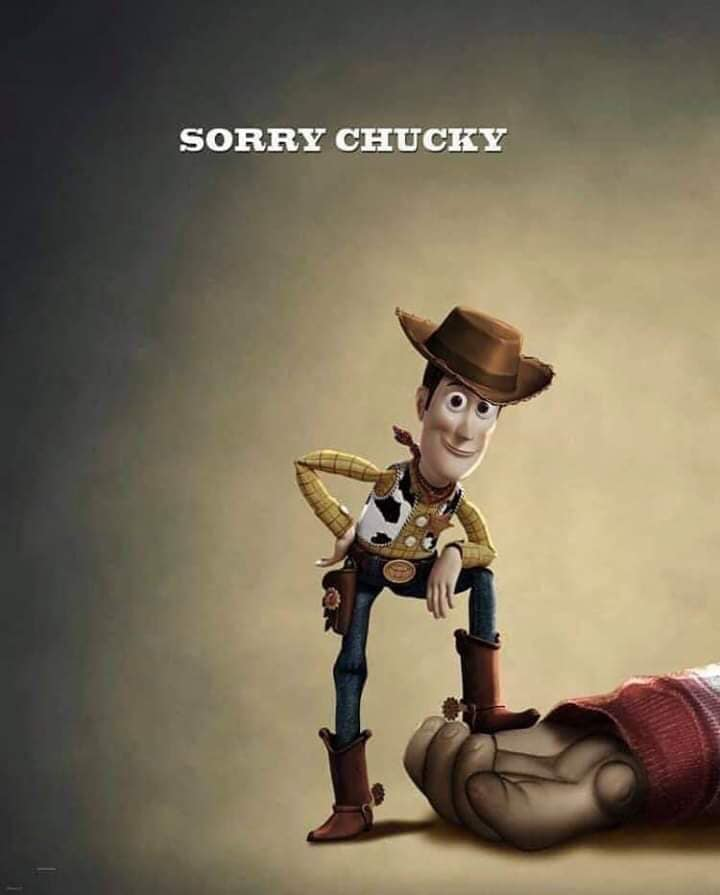 Woody chuck - F*** You Chucky! TOY STORY 4 Has Its Revenge!