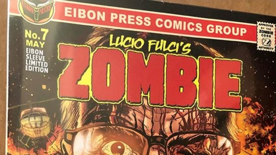 Zombie 7 Banner 560x315 - Preview: ZOMBIE #7 and HOUSE BY THE CEMETERY #2 Now Available from Eibon Press