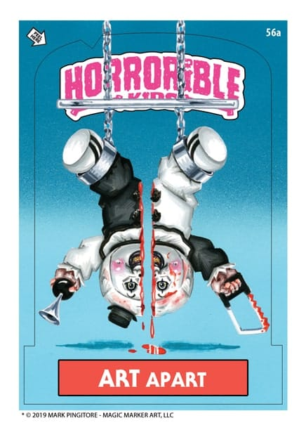 """art - """"Horrorible Kids"""" Series 4 (Including Art the Clown/TERRIFIER Parody) Now Available for Pre-Order!"""