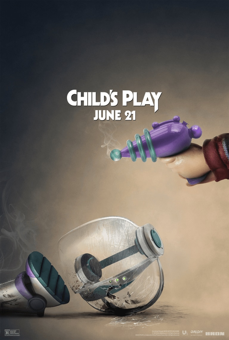 childs play toy story poster - F*** Buzz! Chucky Takes Another Swipe at TOY STORY in Latest CHILD'S PLAY Poster