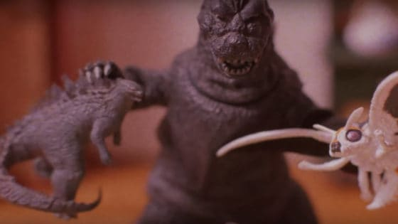 how to make godzilla really angry 1 560x315 - Hilarious Stop-Motion GODZILLA PSA Released By Alamo Drafthouse