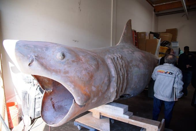 jawsrestoration 2 - Bruce, The Shark From JAWS, Is Being Restored To His Former Glory