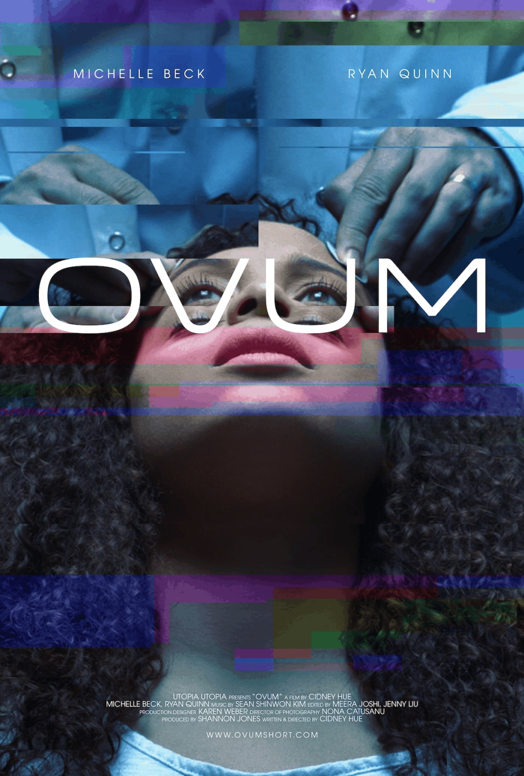 ovumposter 1024x1517 - Exclusive: Check Out This Glitchy OVUM Poster Ahead Of Its Premiere