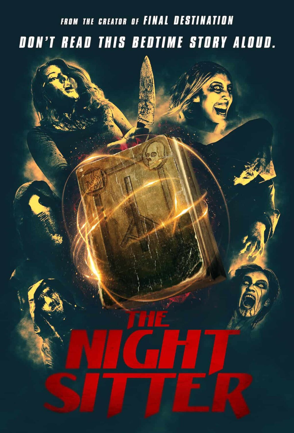 thenightsitterposter 1024x1508 - THE NIGHT SITTER Proves One Should Never Steal From Occult Aficionados