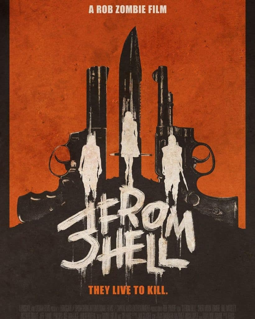 3 from hell poster - Check Out the Exclusive Poster Those Seeing 3 FROM HELL in Theaters Can Snag