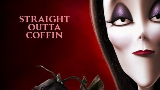 Addams Family Banner 560x315 - Check Out This Kooky Series of Character Posters for the Animated ADDAMS FAMILY Movie