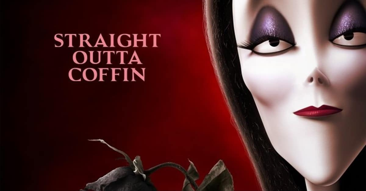 Addams Family Banner - Check Out This Kooky Series of Character Posters for the Animated ADDAMS FAMILY Movie