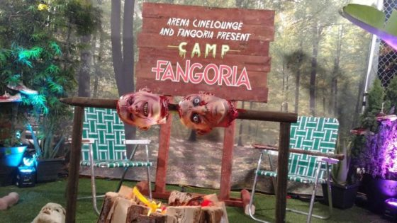 Camp Fangoria Banner 1 560x315 - Event Recap: CAMP FANGORIA Delivered Rooftop Horror Beneath the Stars--With the Stars!