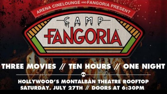 "Camp Fangoria Banner 560x315 - Details Announced for CAMP FANGORIA ""Almost All Night"" Event in Los Angles July 27th"