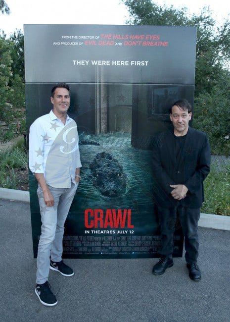 Crawl 10 - Feeding Time! Check Out Images from Press Event for CRAWL at the LA Zoo with Real Alligators