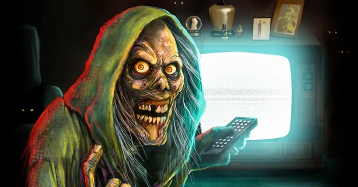 """Creepshow reboot banner - """"The Creep"""" Gets 21st Century Makeover in Poster for Shudder's CREEPSHOW Reboot"""