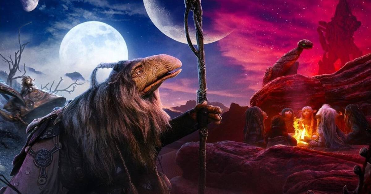 Dark Crystal Prequel Banner - Dazzling Promo Art for THE DARK CRYSTAL: AGE OF RESISTANCE Coming to Netflix