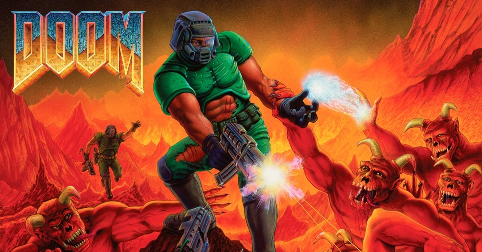 Doom nintendo switch release 1 - Original DOOM Trilogy Released On PS4, Xbox One, And Switch