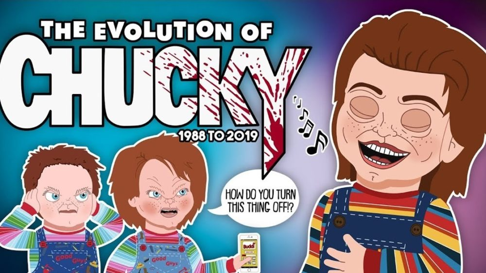 "Evolution of Chucky Banner 1000x563 - Animated ""EVOLUTION OF CHUCKY"" Video Updated to Include Orion's CHILD'S PLAY Remake"