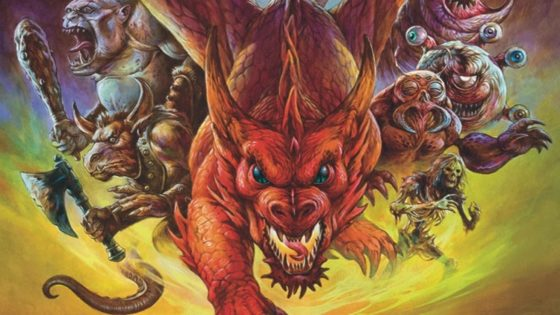 Eye of the Beholder The Art of Dungeons and Dragons image 1 560x315 - EYE OF THE BEHOLDER: THE ART OF DUNGEONS AND DRAGONS Documentary Examines The Franchise's Gorgeous Artwork
