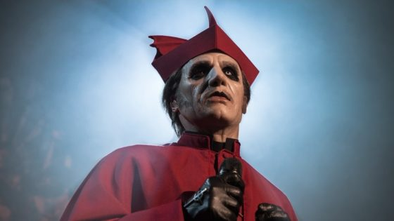 """Ghost Banner 560x315 - Sing Along with Lyric Video for """"Faith"""" by GHOST"""