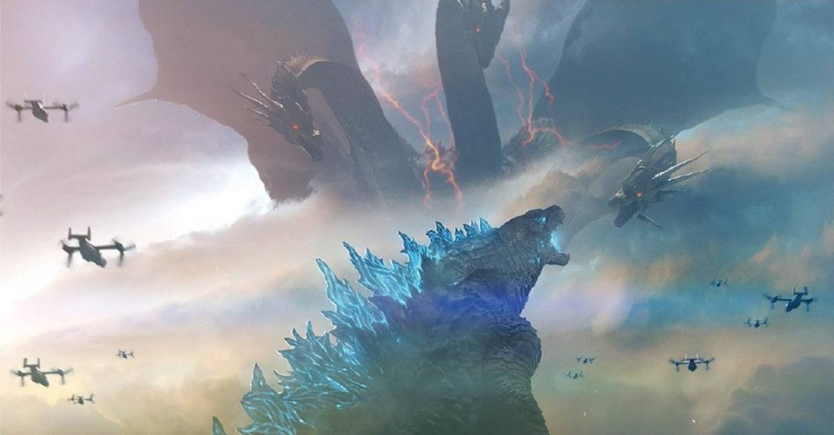 Godzilla KoM Banner - Everything We Know So Far About Titanus Mokele Mbembe from GODZILLA: KING OF THE MONSTERS